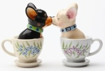 """Shake-Shake-Shake"" & More / Salt & Pepper Shakers, Egg cups / by Judy P Brannon"