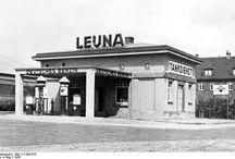 gasoline stations