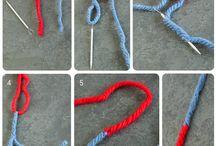 Comment joindre deux bouts de laine