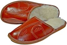 Liam Soft Leather Winter Warm Slippers