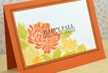Fall card, tag and more..
