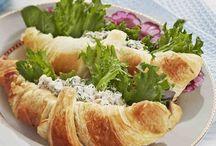 Croissant täytetty