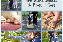 Stuff for blind babies and preschoolers