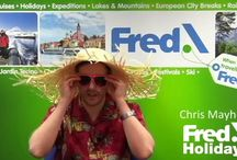 Fred's Friday Thought / Weekly video blogs discussing everything from cruises to city breaks.