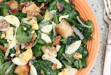 Salads / by Kaycee Taubert
