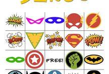 Tema: Superhjältar
