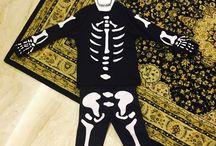 Skeleton halloween costume