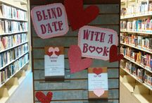 Library Displays February / These are some great library displays and ideas for February.
