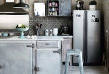 Neo-Rustic Industrial Kitchens / Funky kitchens that still deliver