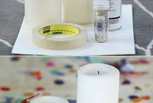 Christmas candle centerpiece / by Kristin Tillotson