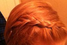 Inside out braid / I did an inside out braid into a side braid