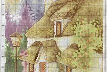 Σταυροβελονιά - Τοπία