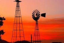 Wind pumps