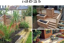 Great&Garden! / Gardens, plants, trees, wood, concrete....
