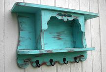 hand painted vintage furniture / Hand painted furniture / by Danyelle Holinsworth