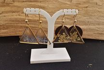 natural earrings