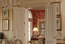 Dining room ideas / by Sarah Pires-Lipsit