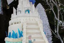 【PENDING】LEILA chan's Birthday Cake / アナと雪の女王をイメージ