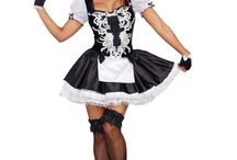 Halloween costumes you  can check us out at tinas fine lingerie.com / 50% off on any regular priced costumes sale end  on 10/26/ 2017