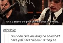Panic! At The Disco / Or rather Brendon! At The Disco. Sorry...