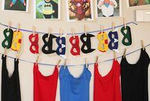cumple de supereroes!