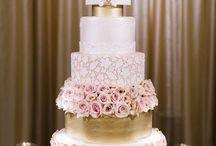 tartas elegantes bodas, 15 años etc