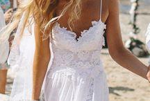 Braid dress beach