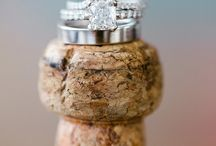 Wedding Rings / Creative photographs of rings on the wedding day