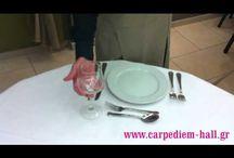 How to... / Εδώ θα βρείτε συμβουλές και tips για να ετοιμάσετε ένα επίσημο τραπέζι.