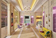 Patisserie interior design