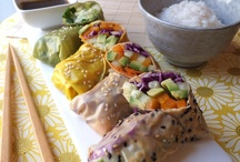 oriental cooking / sushi, egg rolls, stir fries and the like / by Roxanne Mathiason