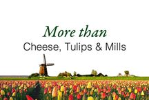More than Cheese, Tulips & Mills / A glimpse of the Dutch Culture by Hampshire Hotels. / by Hampshire Hotels