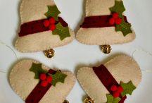 kerstdecoratie voor op te sturen