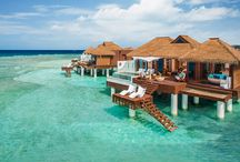Beautiful Over the Water Bungalows