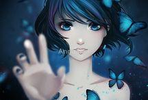 Anna blue