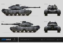 Tanks Concept Arts