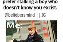 Justin bieber's imagines# wondering it was me..