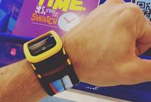 Swatch Touch Zero One / New Swatch Touch Zero One combines design & cool new Beach Volley functions for players and fans – Step Counter, Power Hits and Power Claps. Dig the fun, track the action & collect your reward...  Beach Volleyball is played all over the world, on beaches and in stadiums filled with huge crowds stomping their feet and clapping their hands as the action kicks up thrills and chills. http://www.swatch.com/en/swatch-touch-zero-one / by Swatch