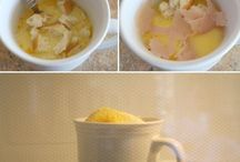 Food: Micro In Mug / by Christy Rooney (MileAMinuteMama.com)