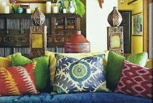 Bohemian style / Rich, Vibrant colors excite me / by Rebecca Burns Clayton