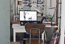 studio/working space