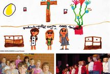 Happiness & Colors / The children's drawings of the salesian schools around the world. Beauty and simplicity.
