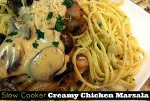 Slow cook chicken