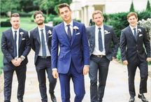 Wedding threads for the boys / A collection of great wedding suits and other cool outfits for the boys.