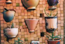 tuin mozaiek