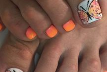 Nails and toes beauty