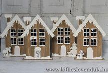 Karácsonyi dekoráció / ...hogy teljes legyen a karácsonyi hangulat...