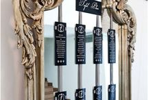 Inspiration {Mirrored Table Plans} / Mirrored table plans