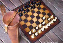 Leather Chess Sets