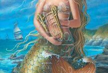 Goddesses Islands and Water / Mythology
